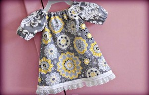 Sewing For Baby – Free Dress Pattern and Video Tutorial