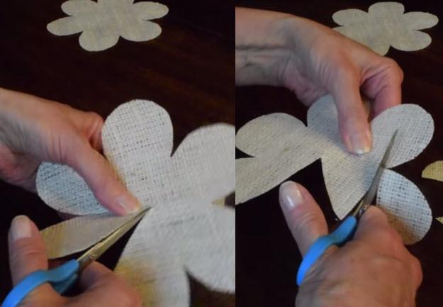 Easy DIY Burlap Roses Tutorial   DIY Projects & Crafts by DIY JOY at http://diyjoy.com/how-to-make-burlap-roses-tutorial