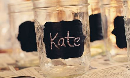 DIY Chalkboard Labels for Jars - How To Make Chalkboard Labels Tutorial for Crafts Projects