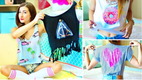 DIY Shirt Ideas Inspired By Tumblr | DIY Joy Projects and Crafts Ideas