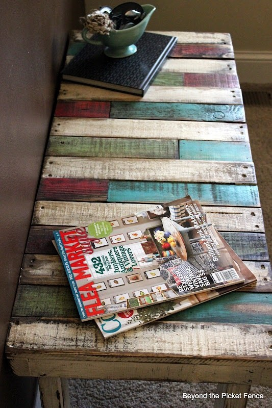 29 rustic diy home decor ideas for Pallet coffee table instructions