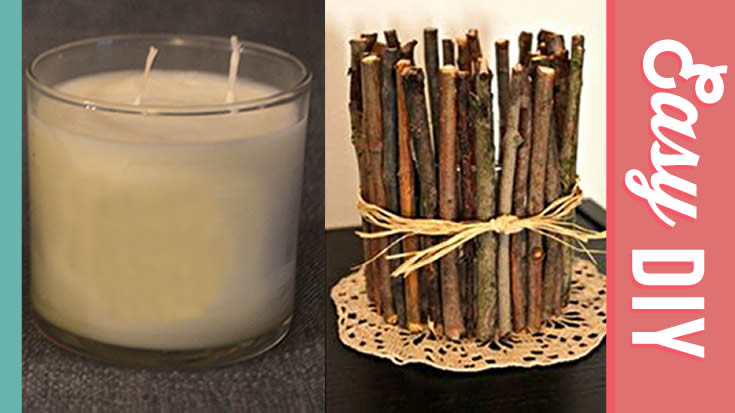 Twig Candle Holder Tutorial - How To