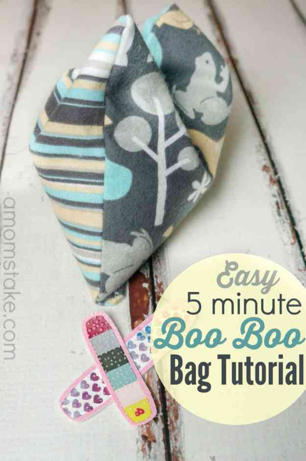 Sewing Projects for Kids | DIY Heating Pad Tutorial #sewingideas #sewingprojects