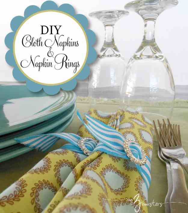 Easy Sewing Ideas for the Home | DIY Kitchen Ideas #sewingideas #sewingprojects