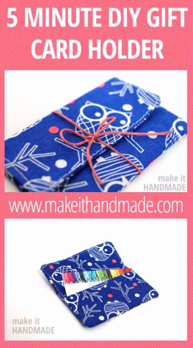 Sewing Projects for Beginners | Ideas for DIY Gifts #sewingideas #sewingprojects