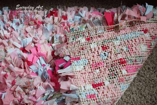 How To Make A Rag Rug | Step by Step Tutorial and Instuctions