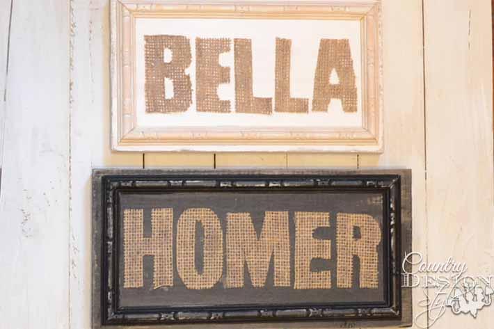 29 Rustic DIY Home Decor Ideas diy-rustic-signs-burlap