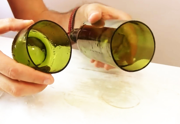3-Ways-to-Cut-Glass-Bottles-8 | DIY Projects & Crafts by DIY JOY at http://diyjoy.com/how-to-cut-glass-bottles-wine-bottle-crafts