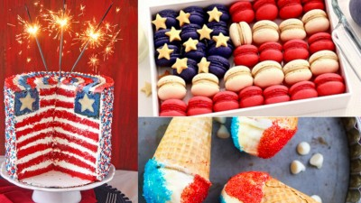 4th of July Dessert Ideas | Best Dessert Ideas for DIY Parties | DIY Projects & Crafts by DIY JOY at http://diyjoy.com/4th-of-july-desserts-pinterest
