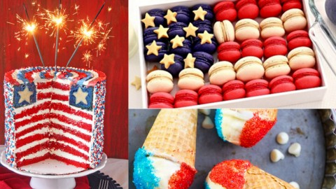 4th of July Desserts and Patriotic Recipe Ideas | DIY Joy Projects and Crafts Ideas
