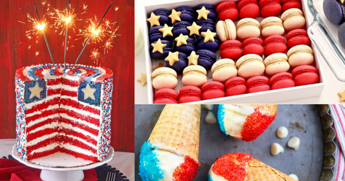 4th of july desserts and patriotic recipe ideas. Black Bedroom Furniture Sets. Home Design Ideas