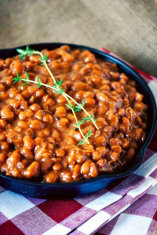 Baked Beans 4th of July Recipe at http://diyjoy.com/best-4th-of-july-recipes-ideas