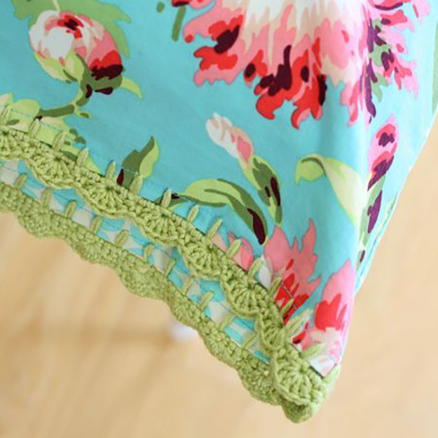 Sewing Projects for The Home- DIY Pillowcase Ideas