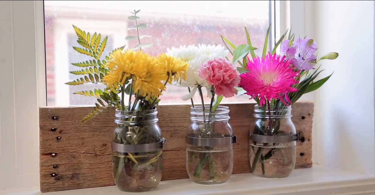 Diy projects with mason jars - Mason Jar Crafts For The Home Easy Diy Home Decor Diy Organization Ideas