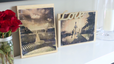 How To Transfer A Photo to Wood | DIY Joy Projects and Crafts Ideas