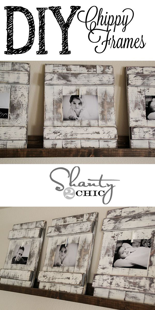 Rustic Home Decor Diy Picture Frames At Http Diyjoy