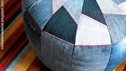 16 Upcycled Projects from Old Jeans | DIY Joy Projects and Crafts Ideas