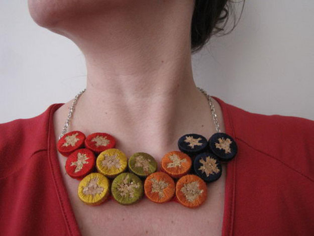 Easy DIY Wine Cork Jewelry Ideas - DIY Wine Cork Necklace - DIY Projects & Crafts by DIY JOY