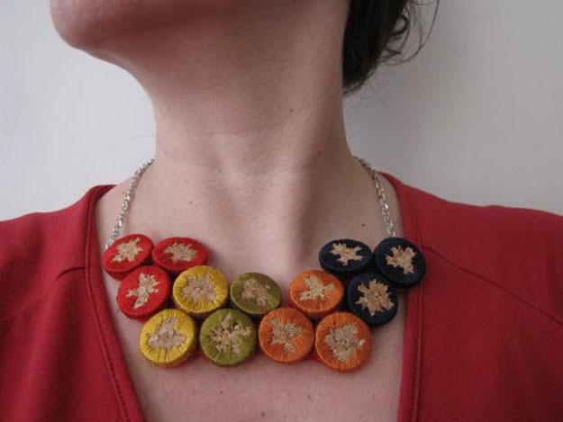 Easy DIY Wine Cork Jewelry Ideas - DIY Wine Cork Necklace - DIY Projects & Crafts by DIY JOY