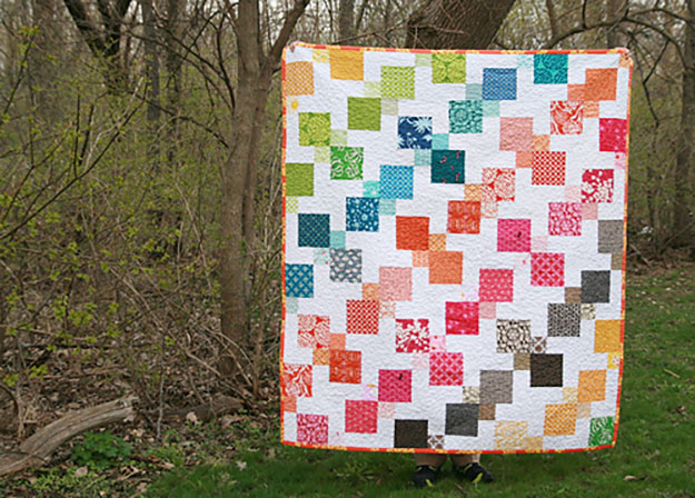 Free Quilt Pattern | Kaleidescope Quilt for Kids | DIY Projects & Crafts by DIY JOY at