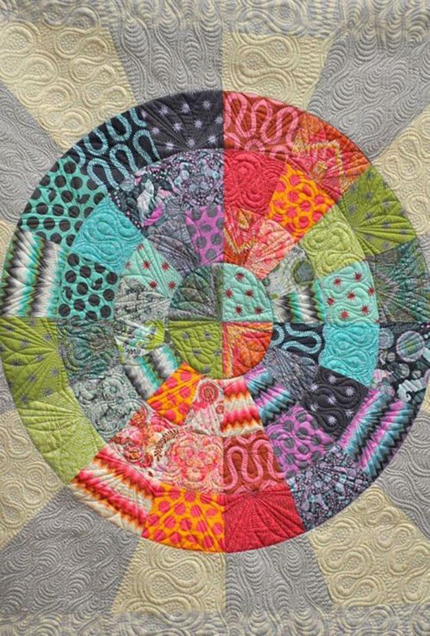 DIY Circle Quilt Pattern   Free Sewing Tutorial   DIY Projects & Crafts by DIY JOY at