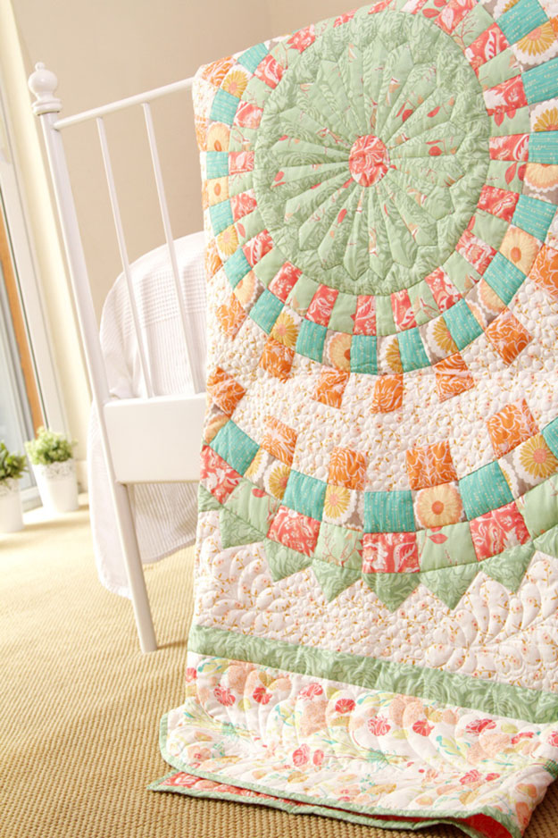 Traditional Quilt Pattern   Free Sewing Patterns for the Home   DIY Projects & Crafts by DIY JOY at