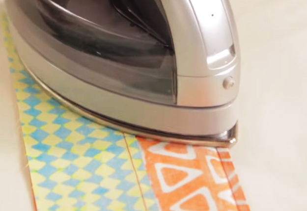How-to-Sew-a-Coin-Quilt | DIY Projects & Crafts by DIY JOY at http://diyjoy.com/free-quilting-pattern-how-to-sew-a-coin-quilt