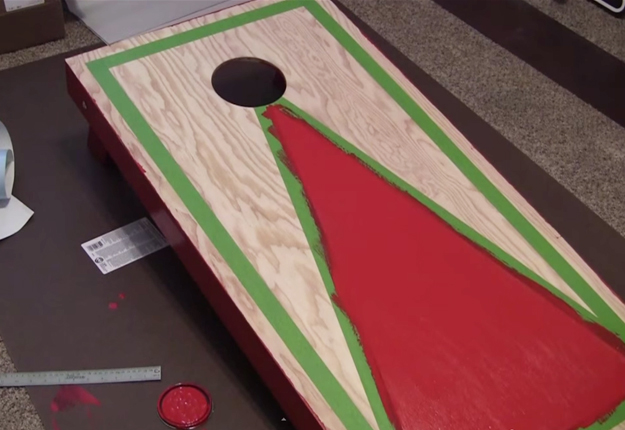 How-to-Build-Cornhole-Toss-Boards-20   DIY Projects & Crafts by DIY JOY at http://diyjoy.com/diy-games-how-to-make-cornhole-boards