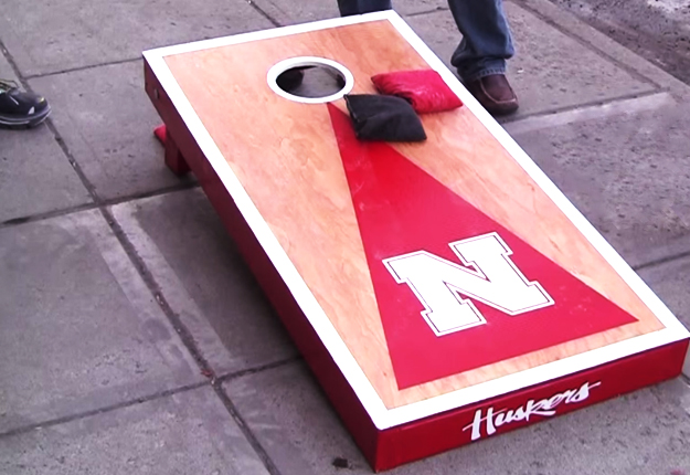 how to build cornhole toss boards final diy projects - Cornhole Design Ideas