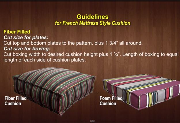 How-to-Make-a-French-Mattress-Style-Cushion-1.2 | DIY Projects & Crafts by DIY JOY at http://diyjoy.com/diy-furniture-outdoor-cushion-covers