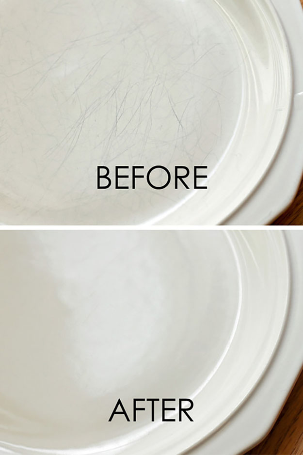 Easy Cleaning Hacks for the Home| How to Repair Damage on Porcelain | DIY Projects & Crafts by DIY JOY at http://diyjoy.com/cleaning-tips-life-hacks