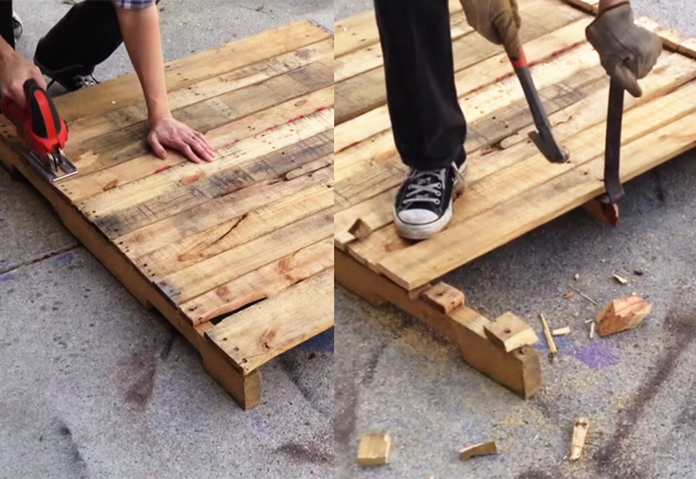 wooden pallet projects Unique projects you can make entirely from free salvaged pallet wood.
