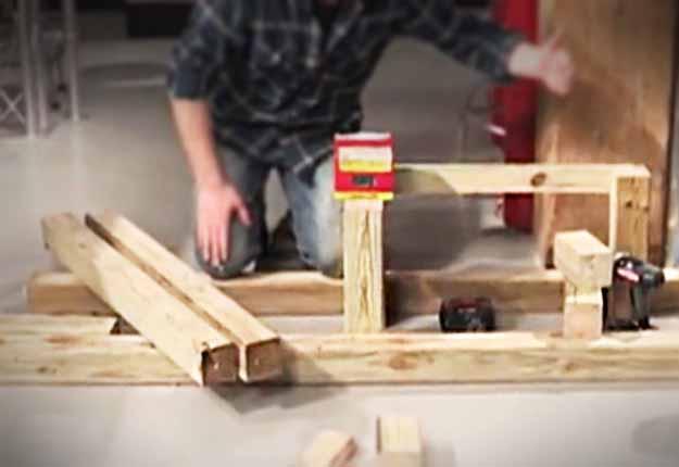DIY Projects & Crafts by DIY JOY at http://diyjoy.com/outdoor-storage-diy-firewood-rack