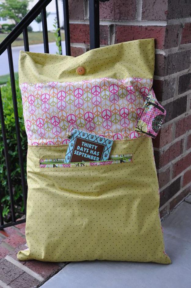 Diy Sleepover Pillowcase: Sewing Projects for The Home  DIY Pillowcase Ideas   DIY JOY,