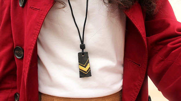 Easy DIY Wine Cork Craft Ideas for Homemade Jewelry - Wine Cork DIY Necklace - DIY Projects & Crafts by DIY JOY #crafts