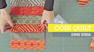 Combine Your Favorite Fabrics To Create The Perfect Coin Quilt