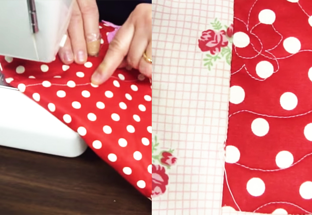 DIY Projects & Crafts by DIY JOY at http://diyjoy.com/sewing-tutorials-stitch-in-a-ditch