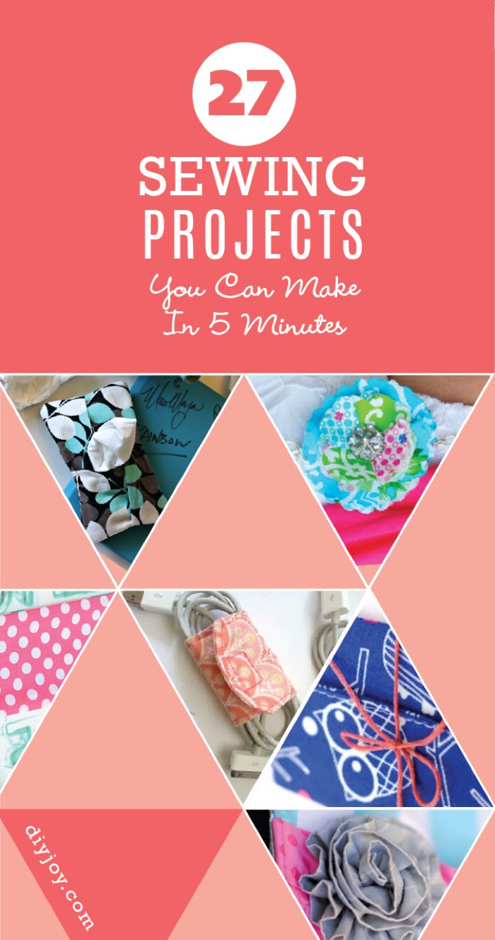 50+ Quick and Easy Sewing Projects
