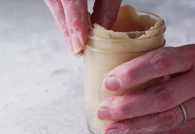 How To Make Mason Jar Pie   Easy Mason Jar Recipes at http://diyjoy.com/mason-jar-recipes-cherry-pie-recipe