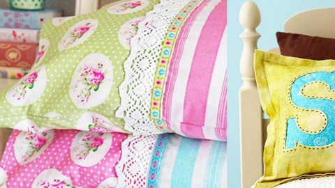 14 DIY Pillowcases You'll Fall In Love With | DIY Joy Projects and Crafts Ideas