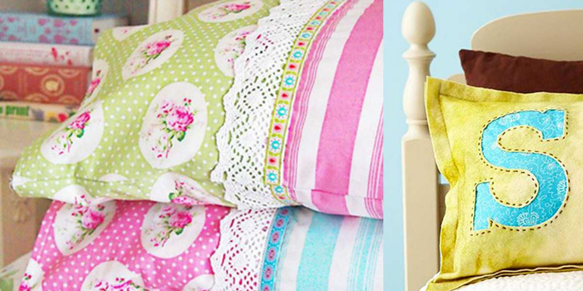 Sewing projects for the home diy pillowcase ideas diy joy for Household sewing projects