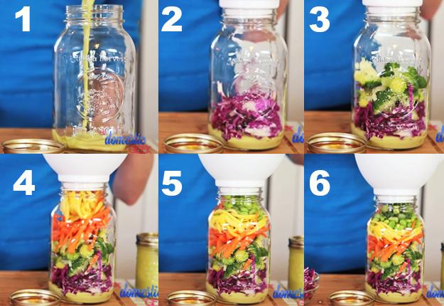 Mason Jar Salad Recipes 4 Ideas For Salads In A Jar