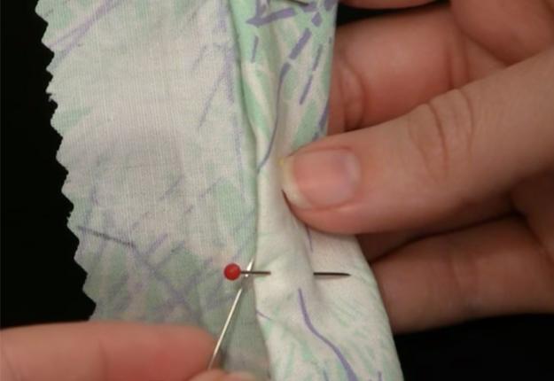 DIY Projects & Crafts by DIY JOY at http://diyjoy.com/how-to-sew-a-blind-hem-stitch