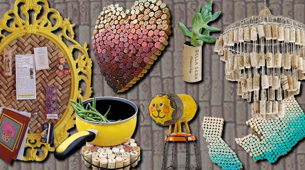 50 Clever Wine Cork Crafts Youll Fall In Love With