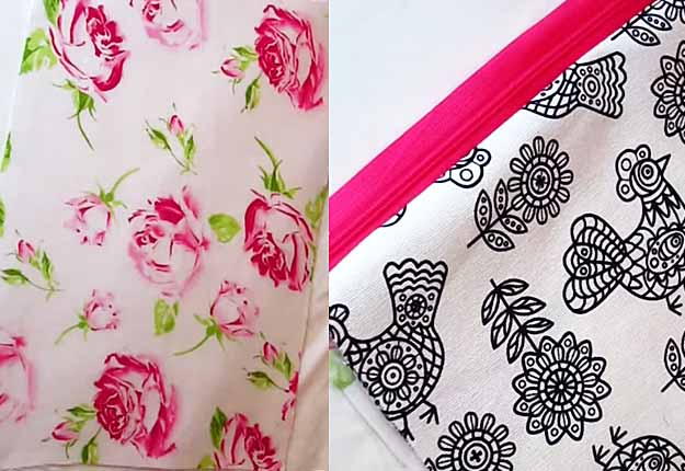 Free Sewing Pattern for Women | Easy DIY Makeup Bag Tutorial | DIY Projects & Crafts by DIY JOY at http://diyjoy.com/easy-sewing-projects-diy-make-up-bag