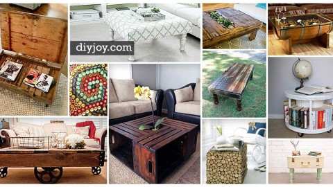 16 DIY Coffee Table Projects   DIY Joy Projects and Crafts Ideas