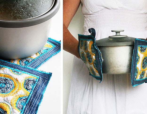 16 Upcycled Projects from Old Jeans Upcycled Crafts