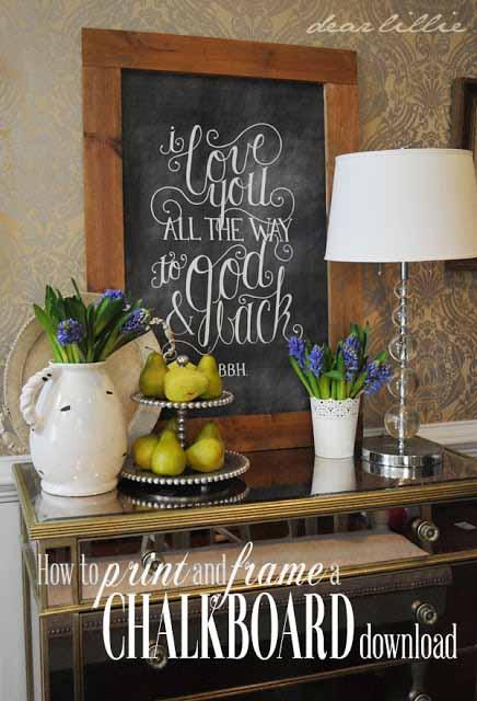 DIY Chalkboard Frame Tutorial | Creative Home Decor Projects #diy #crafts
