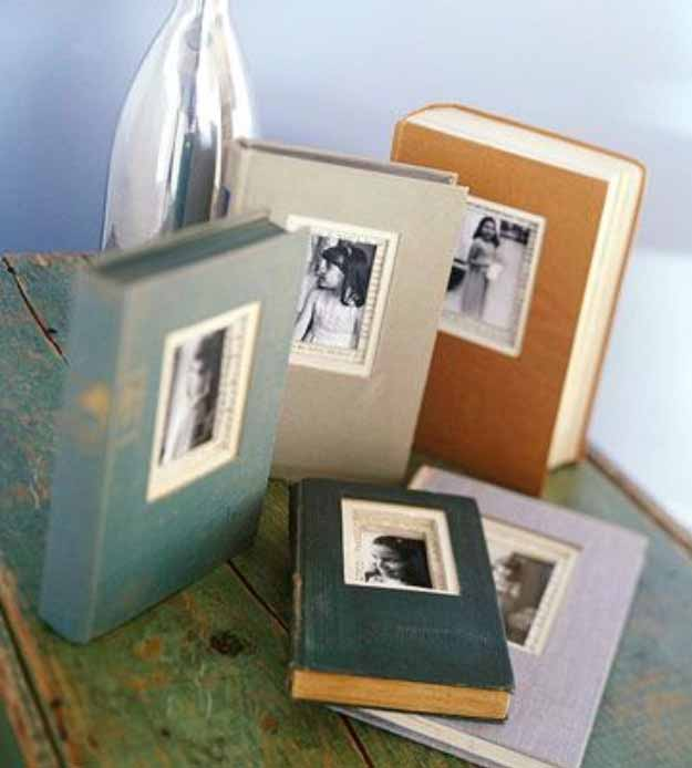 Upcycling Project Ideas | DIY Picture Frame at http://diyjoy.com/craft-ideas-diy-picture-frames