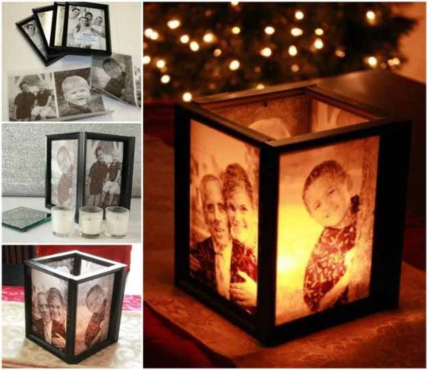 diy lamp tutorial picture frame ideas at httpdiyjoycom